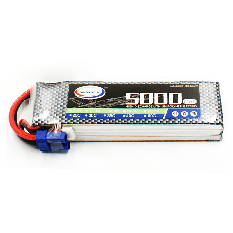 все цены на Battery Lipo 3S 11.1V 5000mAh 40C For Remote Control Toys RC Helicopter Drone Quadcopter Airplane Car Boat Truck Lipo Battery