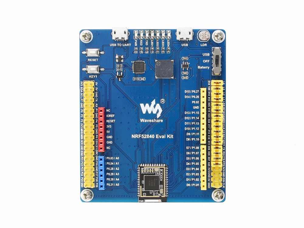 nRF52840 Bluetooth 5 0 Evaluation Kit Raspberry Pi Connectivity