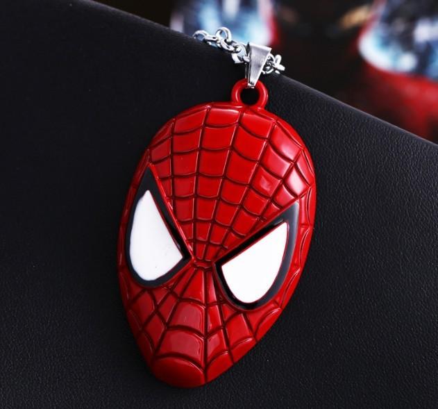 Spider-Man- The Amazing Spiderman Mask Pendant