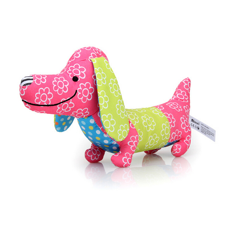 Baby Cartoon Animal Voice Rattles Toy Soft Animals Bell Ring Mobiles Popular Toys For Baby Appease Strollers For Dolls Toys