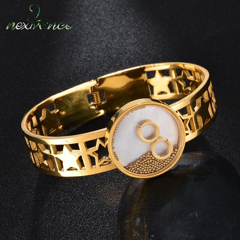 Nextvance Gold Hollow Star...