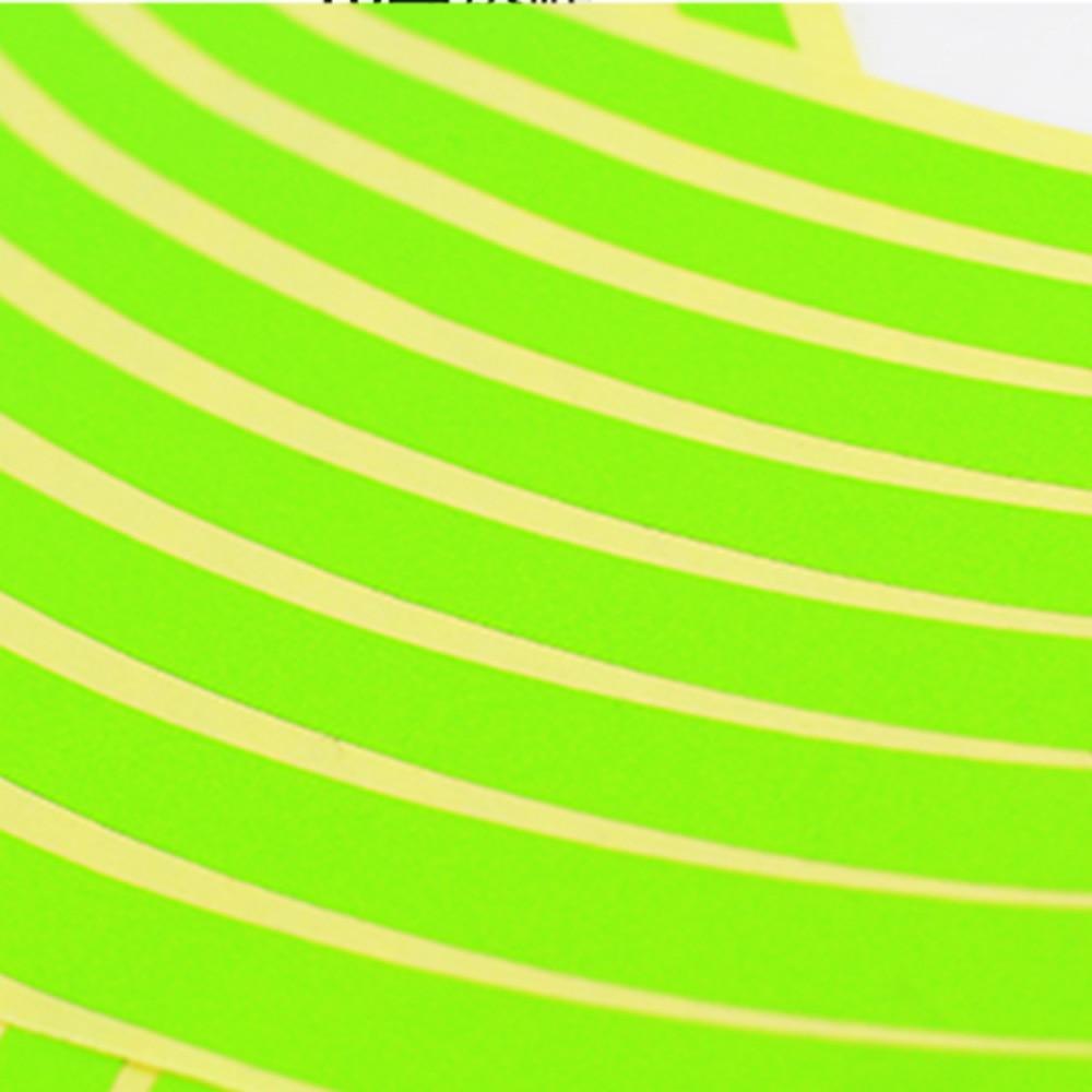 "Image 5 - 10"" 12"" 14"" 16"" 18"" Motorcycle Sticker Pegatinas Moto Strips Reflective Wheel Rim Adesivi Moto For Honda Yamaha Kawasaki Suzuki-in Decals & Stickers from Automobiles & Motorcycles"