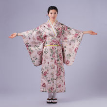 Женский традиционная юката кимоно женский халат японский