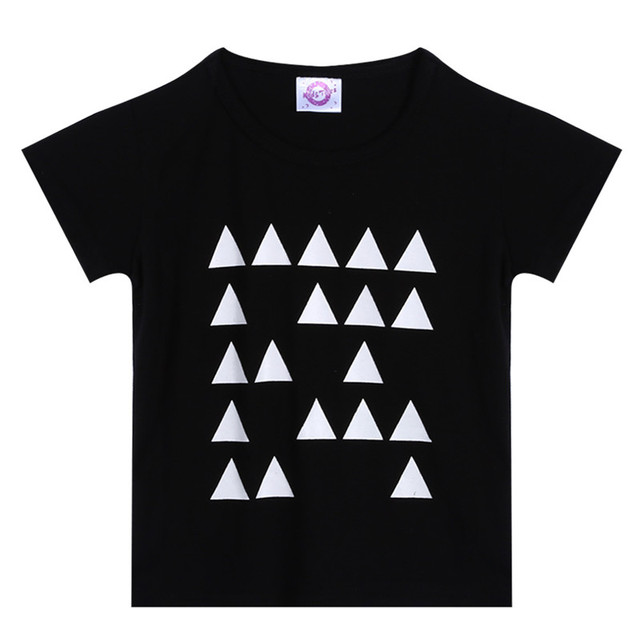 Letter Print Short Sleeves Baby Boy's T-shirts