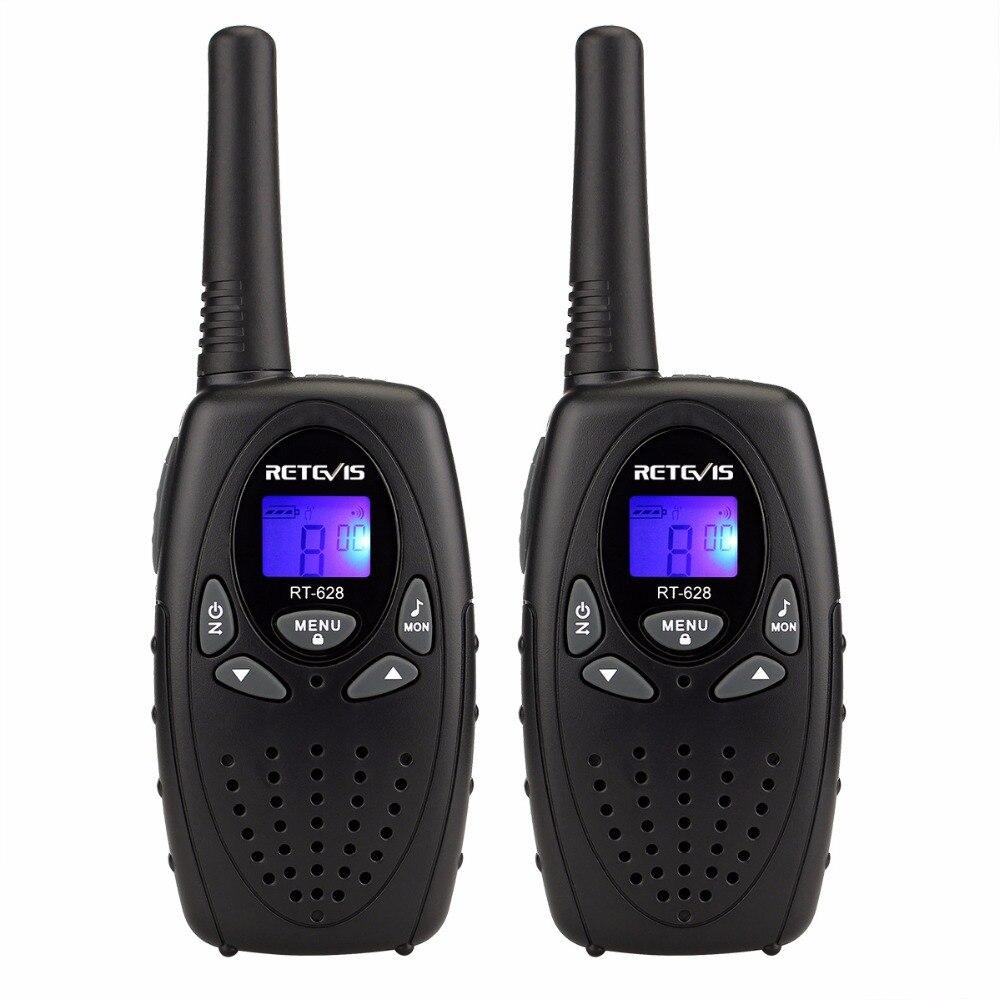 Walkie Talkie 4pcs Retevis RT628 Mini Kids Radio 0.5W VOX LCD PMR Ham Radio Station Hf Transceiver Two Way Radio