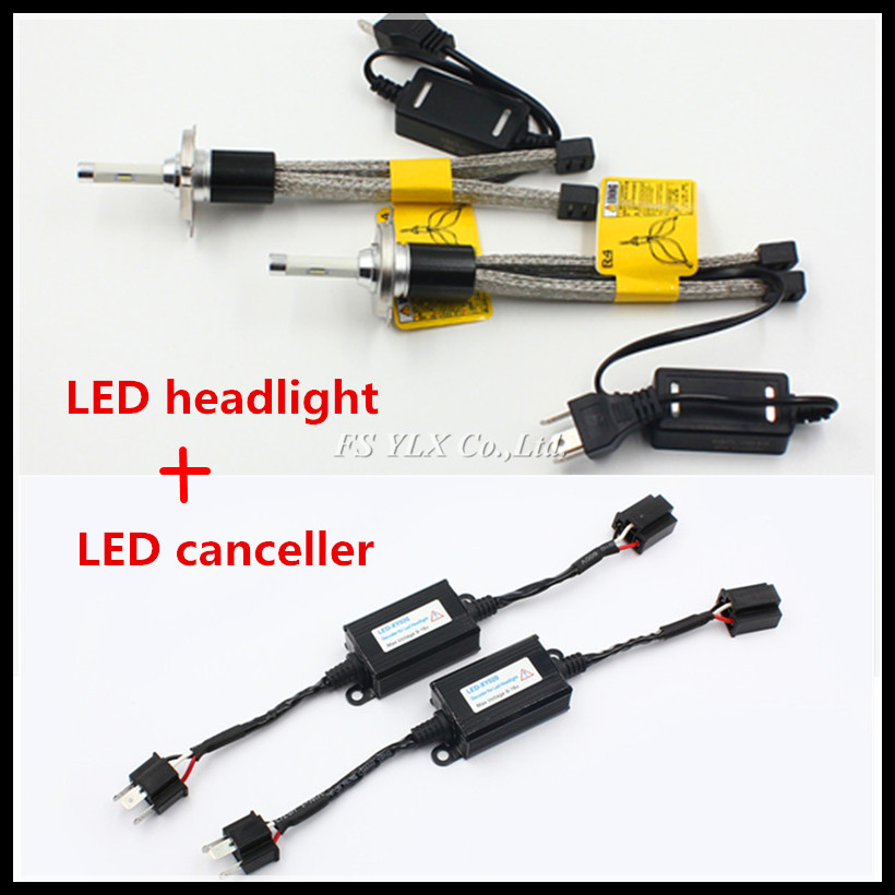 FSYLX Canbus 60W 7200lm R4 HB2 9003 H4 LED headlight bulb with headlight Error Free decoder H13 9004 9007 H4 hi/lo LED headlight 2x h13 h4 9003 hb2 9004 9007 110w 10400lm lumileds chips led car auto canbus headlight light bulb no error fog lamp h l