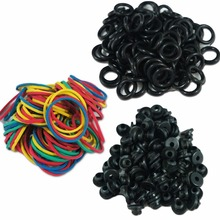 Tattoo Machine A Bar Nipple Grommets, O Rings And Rubber Bands 300 Pcs