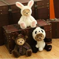 Американский бутик ручной работы Мишка Плюшевый Медведь кукла свадьба медведь плюшевые игрушки на Рождество День Святого Валентина подаро