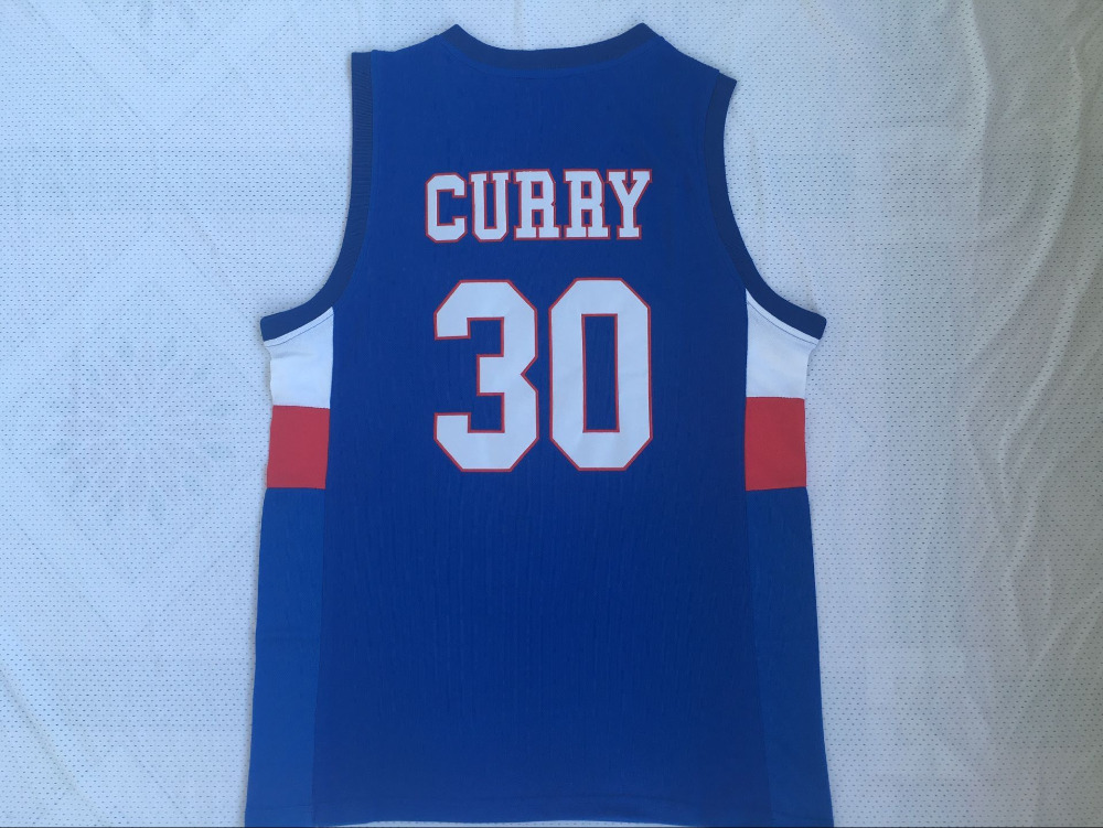 Stephen Curry Jersey 30 Charlotte Christian Knights Basketball