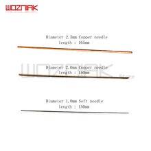 Wozniak – Machine à poncer, enlever la colle, aiguille en cuivre, écran LCD, OCA colle éliminer la tige en cuivre, outil d'entretien du combiné 10 pièces/lot