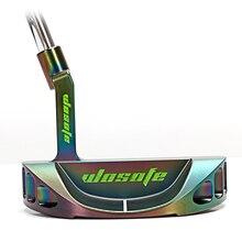 Golf club putter black festoon men cnc steel shaft with headcover free shipping