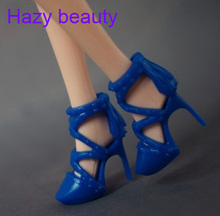 Hazy beauty different styles for choose Casual High heel shoes Flat shoes for Barbie Doll Fashion