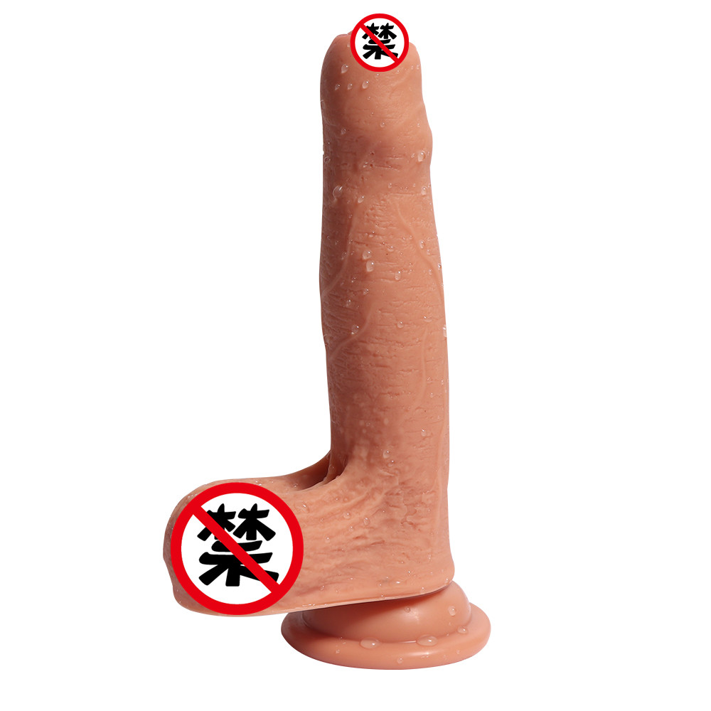 Super Realistic Soft Silicone Dildo Suction Cup Male Artificial Penis Dick Woman Masturbator Adult Sex Toys Dildos For Women double penetration super long realistic dildo lesbian sex toys for woman double dildo big penis large dick dildos for women