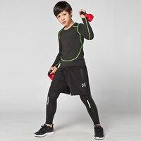 Kids winter long sleeved Sport Running Football jerseys training suit soccer jersey Suit Kids Soccer Pants boys Tracksuits