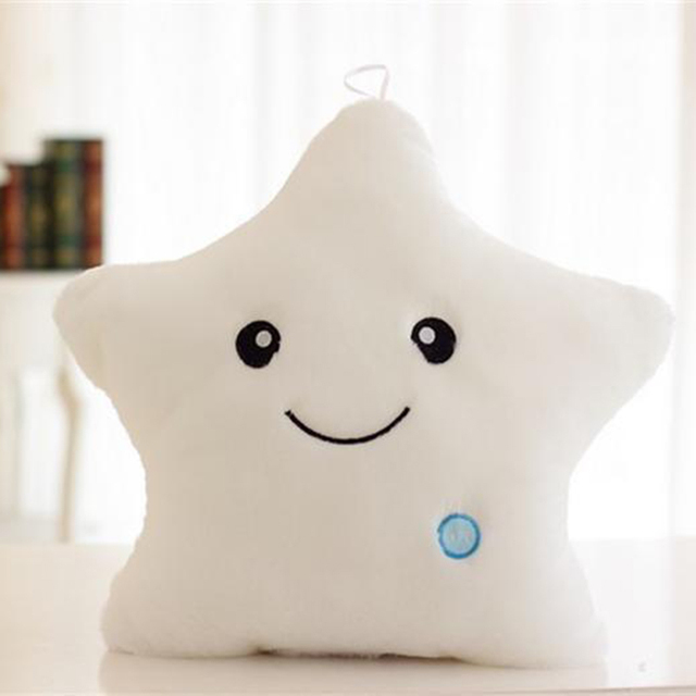 Glowing LED Star Plush Toy