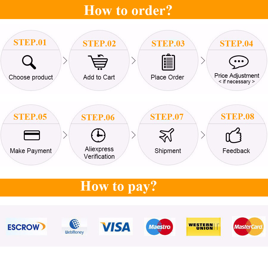 order and pay