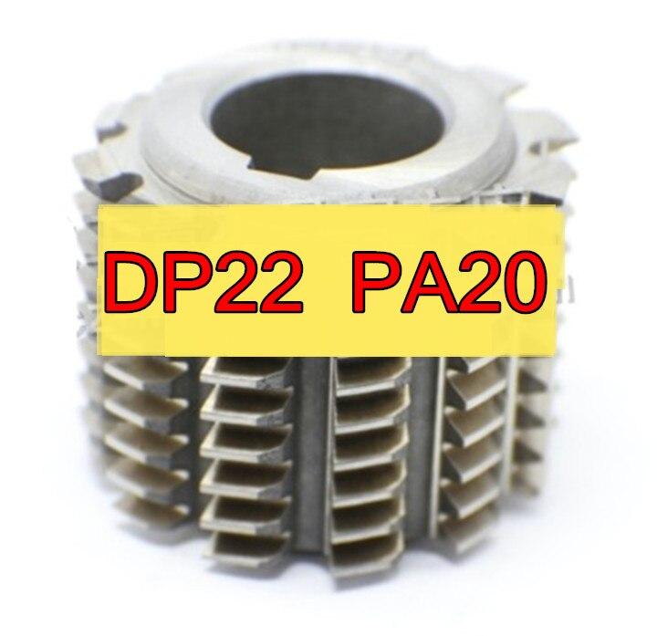 DP22 PA20 degrees 50 40 22mm HSS Gear Hob Gear cutting tools Free shipping