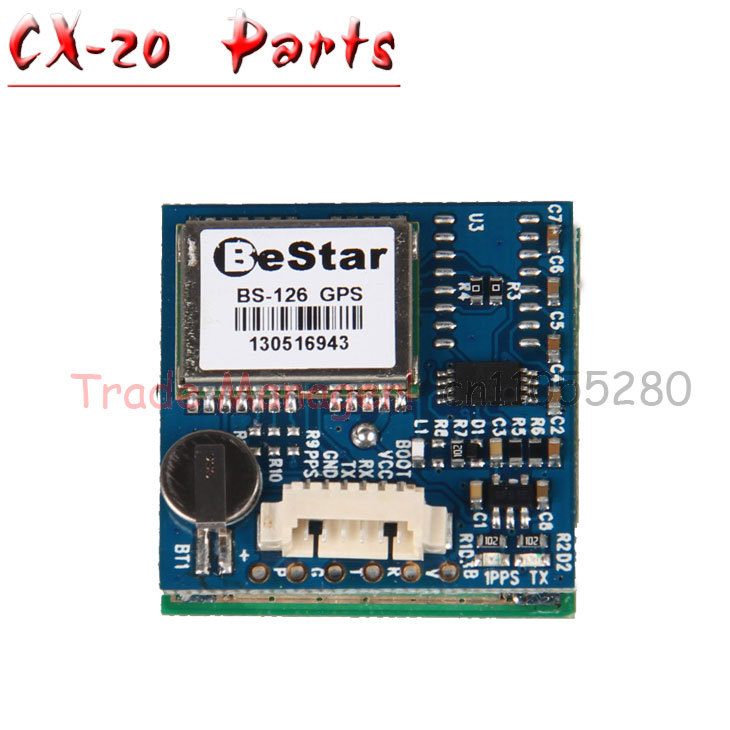 Free shipping CX-20 RC Drone Helicopter Quadcopter Parts GPS PCB Board CX-20-011 for Cheerson Auto-Pathfinder cheerson cx 20 cx20 rc quadcopter parts receiver board cx 20 007