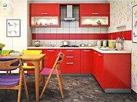 20117 горячей продажи высокий глянец, лак кухонные шкафы белый цвет современный 2PAC кухня мебель кладовая L1606076