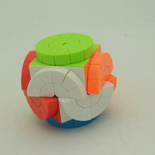 Megaminx Cube Professional For Magic Cube Speed Fidget Cubes Puzzle Oyuncak Neo Cubo Magico Children Toy shengshou magic snake magic cube neo cubo magico 24 blocks stess cube for antistress fidget toy fidget cube puzzle desk toy