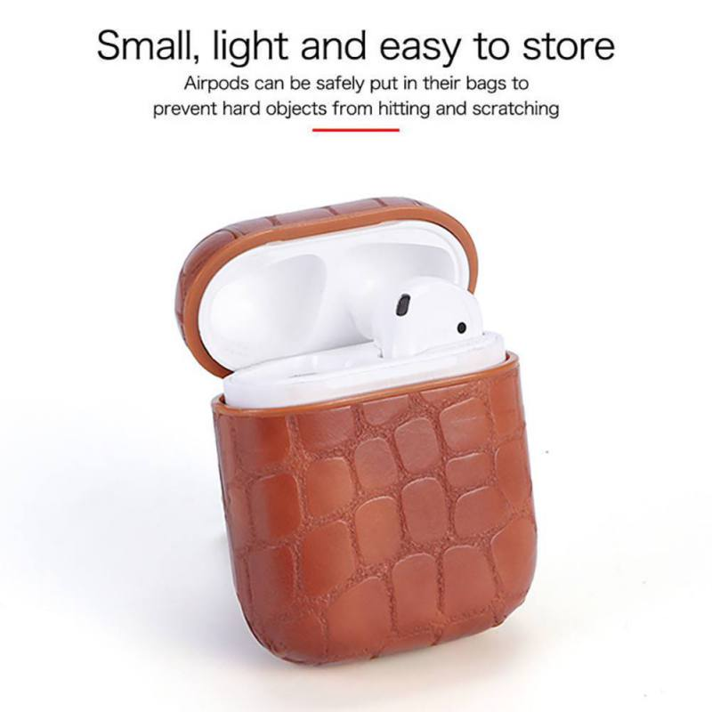 BUBM Strap Anti-fall Anti-sweat Shackle Design Reserved Charging Hole Headset Accessories Earphone Case For Apple Airpods