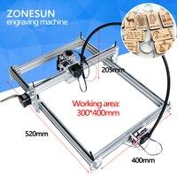 7000MW AS 3 Big Work Area 30 40cm DIY Laser Mcahine Laser Engraving Machine Cnc Laser