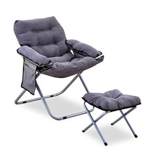 Bed-Chair Chair-Recliner Sofa Lounge Folding Outdoor And Floor Couch Footstool W/armrests
