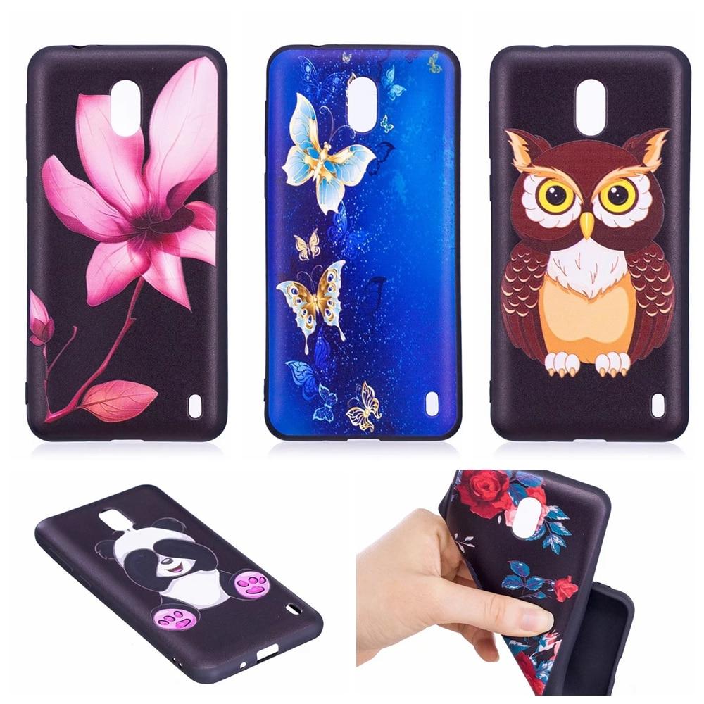 HUUGAOLU sFor Coque Nokia 2 Case Cover Panda Dog Silicone TPU Case For Nokia 2 Nokia2 Dual Sim Etui Fundas Phone Bags