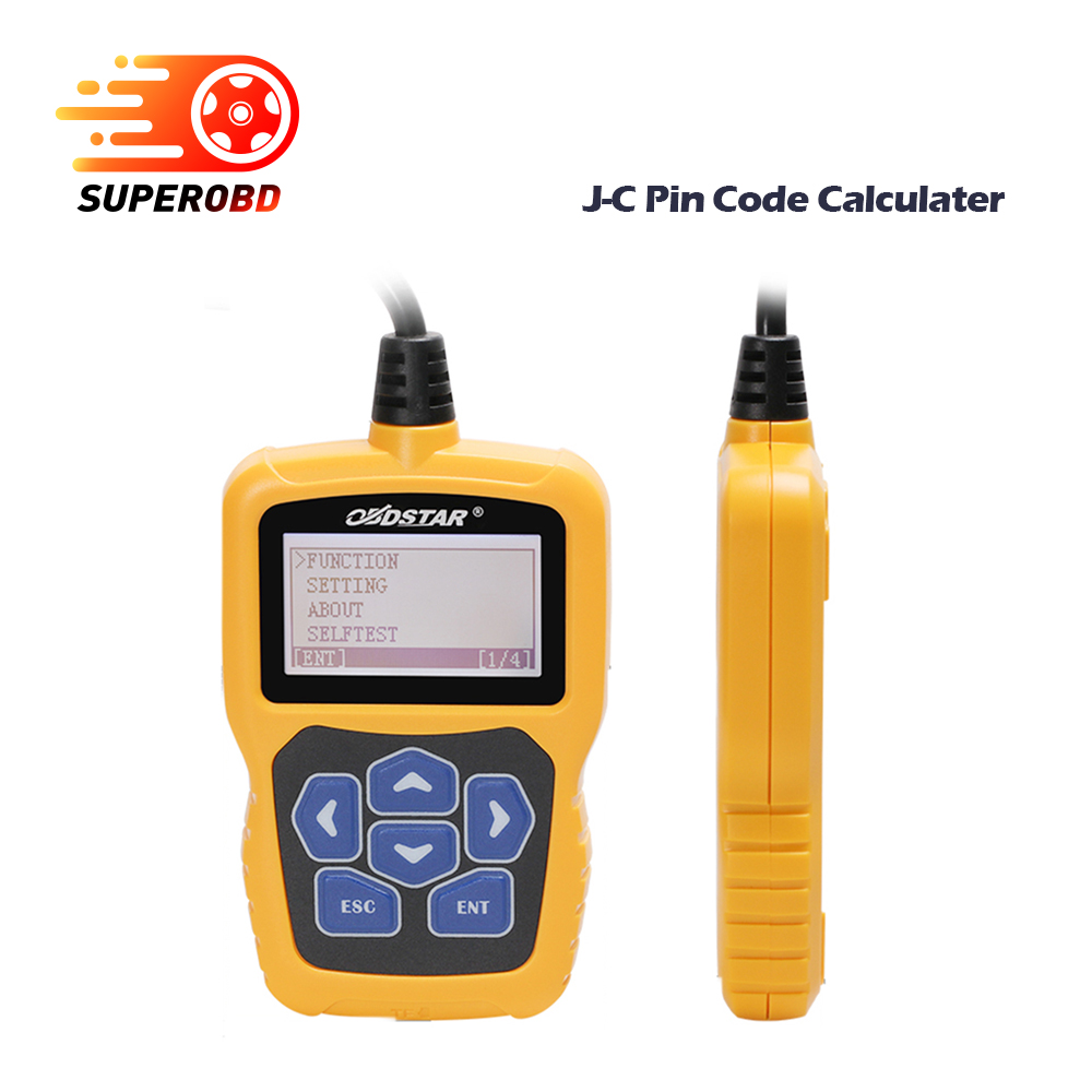 Obdstar J C Pin Code Calculator Immobilizer Tool No Token Limit For