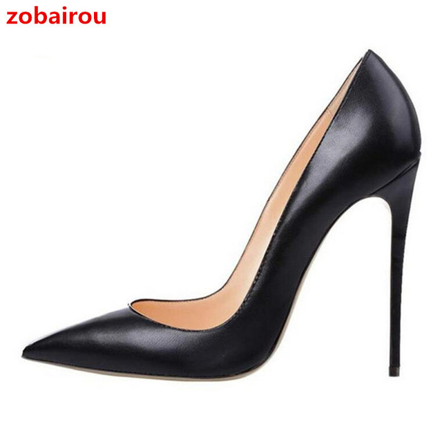 Top Quality 12cm Super High Heels Shoes 2017 Women Pumps Sexy ...