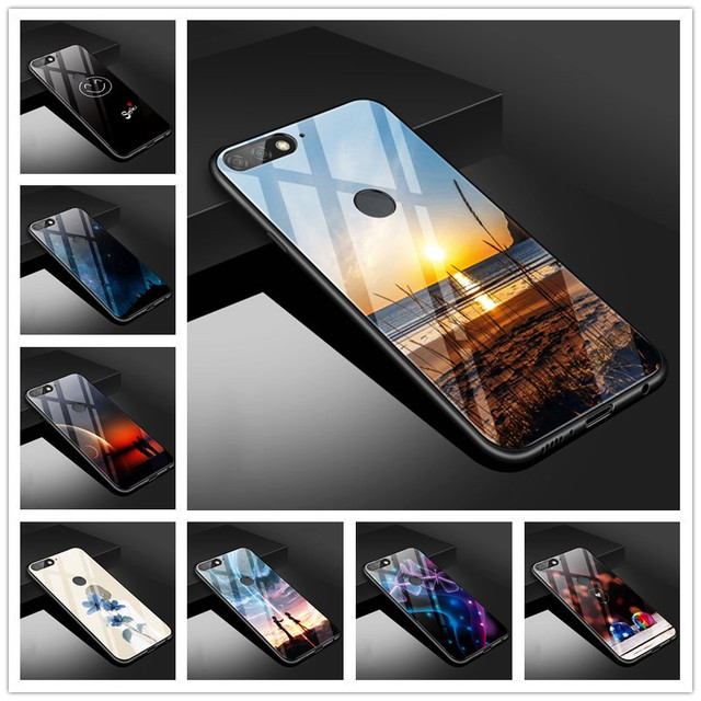 info for a5c26 99c15 US $4.98 |Aliexpress.com : Buy For Huawei Honor 7C Pro Case 5.99 LND L29  Tempered Glass Soft Silicone Frame Back Cover For Huawei Honor 7 C Pro Case  ...