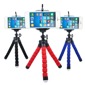 Hot Sale1pcs Camera Phone Holder Flexible Octopus Tripod Bracket Stand Mount Monopod Styling Accessories For Mobile Phone Camera