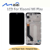 For Xiaomi Mi Play LCD Display Digitizer Assembly Touch Screen Replacement for Xiaomi Mi Play LCD Screen 5.84 with frame