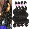 Grade 7A Show Hair Malaysian Virgin Hair Body Wave 3 Bundles Human Hair Weave Malaysian Body Wave Malaysian Curly Hair Extension