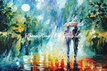 palette knife oil painting  modern oil painting canvas oil painting K301