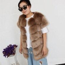 ZADORIN Veste 2019 新デザインパッチワーク毛皮のようなフェイクファーベスト女性半袖フェイクファーコートジャケットプラスサイズの冬の毛皮ジレ