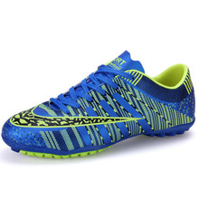 chuteira futsal Men Boy Kids Soccer Cleats Turf Football Soccer Shoes TF Hard Court Sneakers Trainers New Design football boots