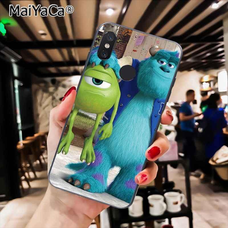 MaiYaCa Bonito Universidade Monstros Sulley Tiger Phone Case Soft para Xiaomi Mi6 Mix2 Mix2S Note3 8 8SE Redmi 5 5 além de Note4 4X Note5