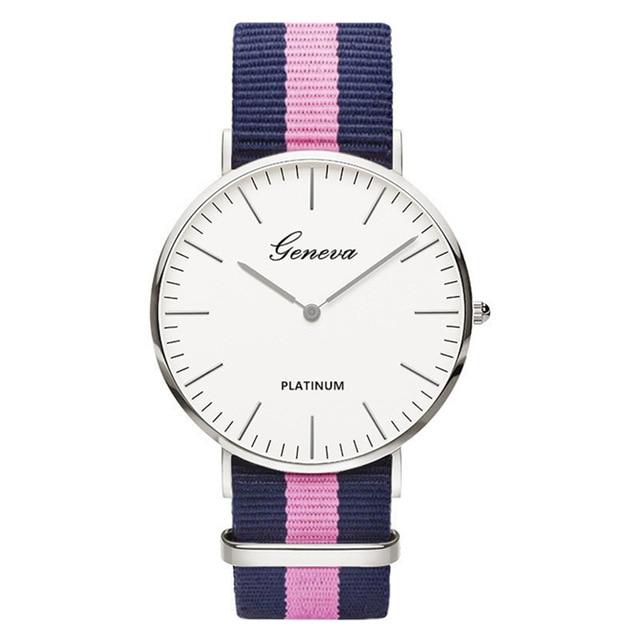relogio feminino Dames casual Quartz Bear horloge heren dames Nylon - Herenhorloges - Foto 6