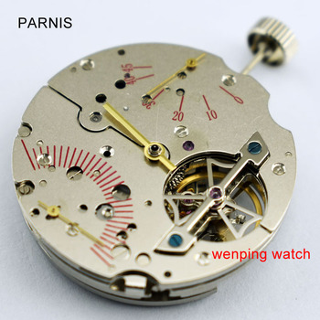 P731 Parnis Power Reserve Asia st2505 automatic date movement