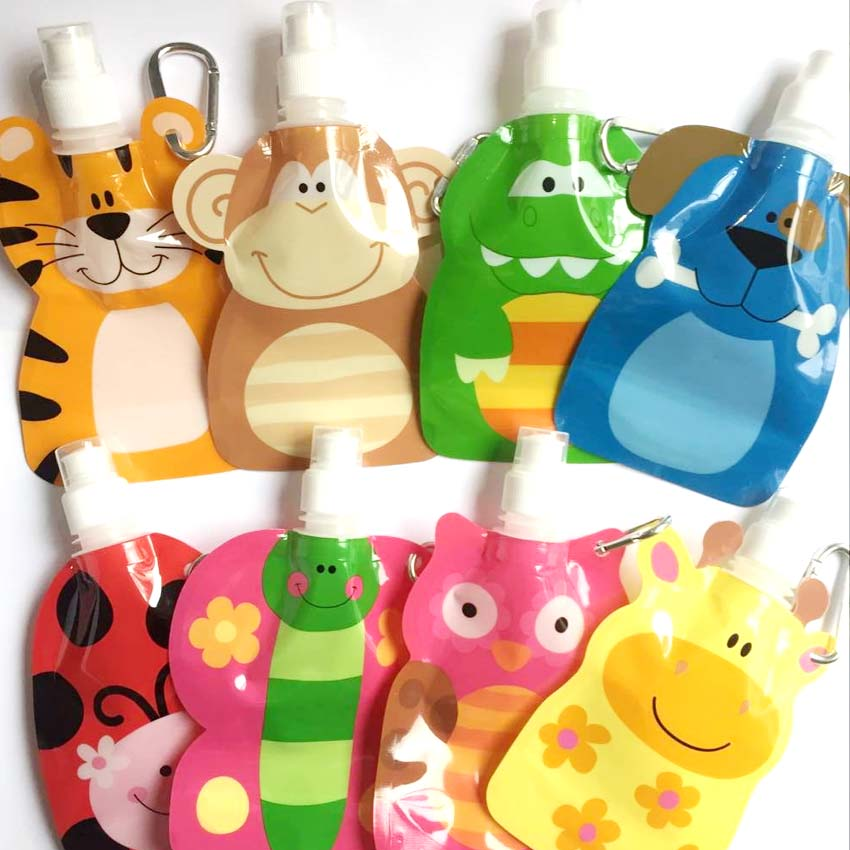 1pcs 380ml Reusable Food Pouch Baby Packaging Reusable