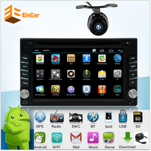 Android 5.1.1 Quad Core Universal 2Din Car dvd gps Audio Stereo GPS Navigation Double 2Din HD Radio Automotive Multimedia Player