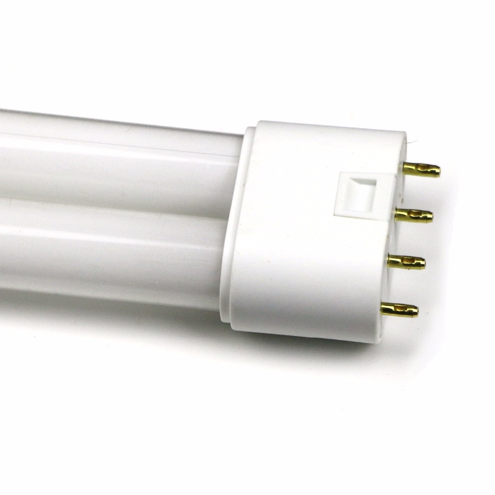 2-pack CFL Compact Fluorescent Linear Twin-Tube Light Flat 4-Pin 2G11 Base  H-shape White Warm White YDW Available