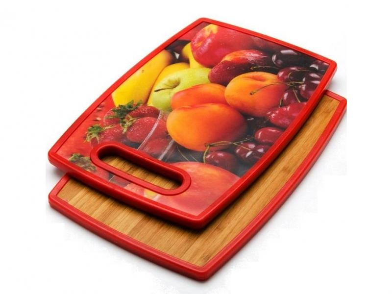 Board cutting MAYER & BOCH, BERRIES, 30*20 cm, double side a4 self healing cutting mat pvc double sided engraving board 3mm thickness