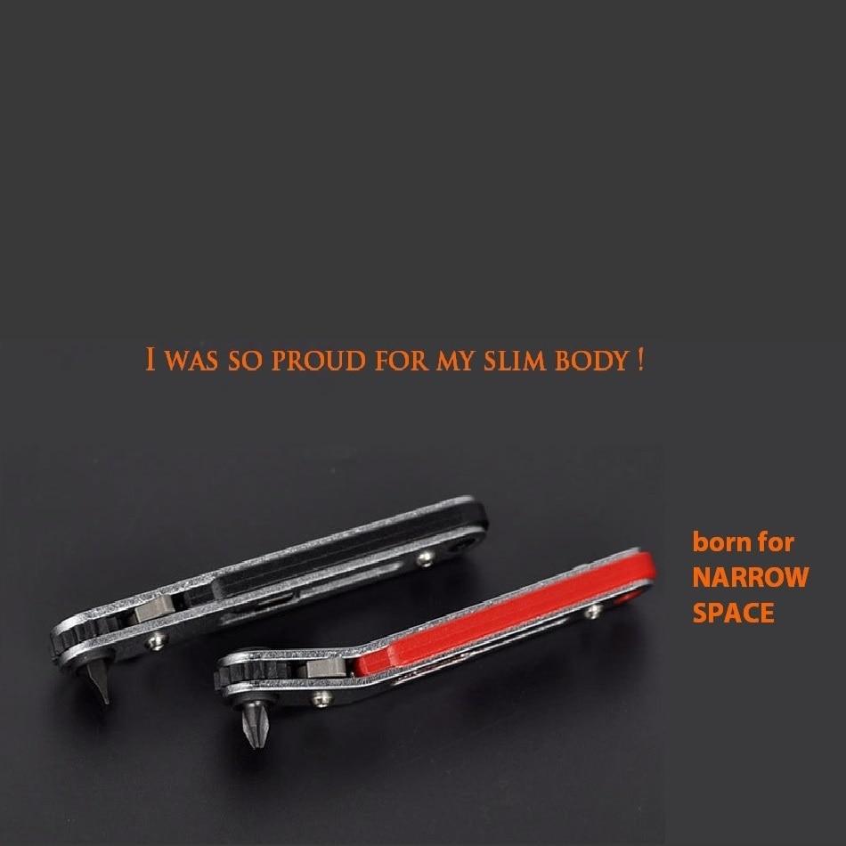 Купить с кэшбэком Multifunction Tool torque wrench ratchet screwdriver Set narrow space repair tools Slotted 6.0 Phillips 6.0