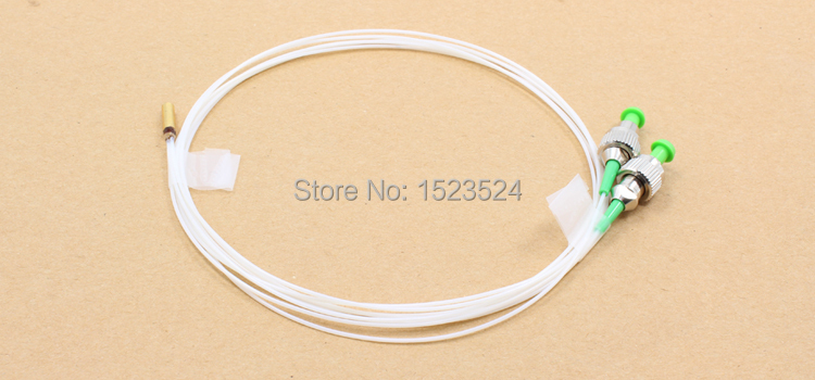 0 9mm SM 1M Fiber Optic Dual Core Collimator 3 2mm Gold Plated Tube Fiber Optic