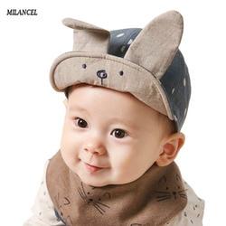 2017 new arrival spring baby hats cute bunny ear design babby peaked cap summer baby boy.jpg 250x250