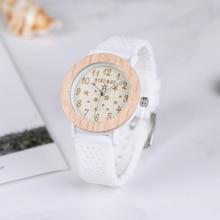 BOBO BIRD P21 деревянные женские часы Звездные серии Дамские Кварцевые часы с белым ремешком