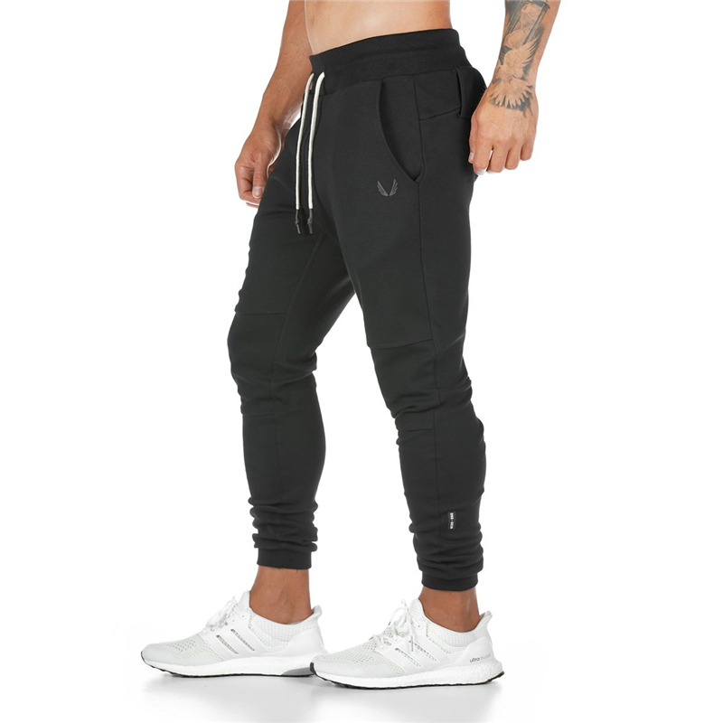 2019 New Running Pants Men Pants Sport Gym Training Pants Men Jogger Men Pants Slim Fit Sweatpants Cotton Workout Tight Trousers