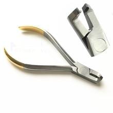1Pcs Tandarts Tang Distale Einde Cutter Dental Filamenten Hardmetalen Wisselplaten Merk Kaken Boog Snijden Orthodontische Instrumenten